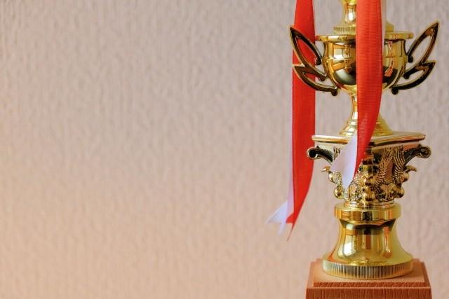 コンクール授賞式の撮影